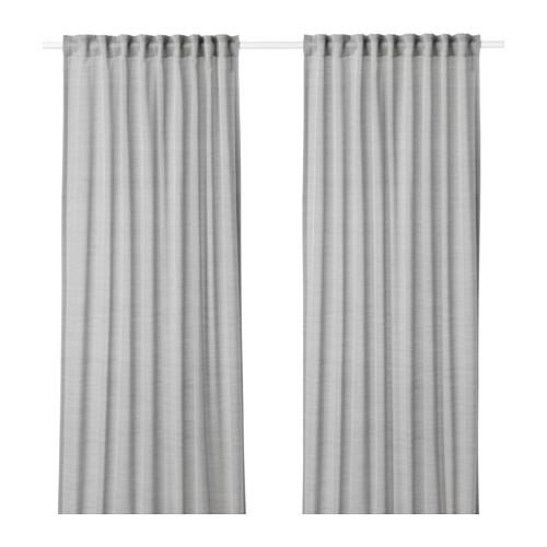 HILJA cortinas, 1 par