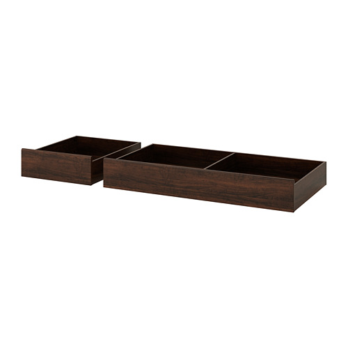 SONGESAND caja almacenaje cama, juego 2