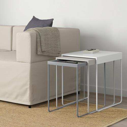 GRANBODA nesting tables, set of 3