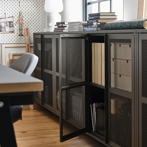 IVAR cabinet with doors