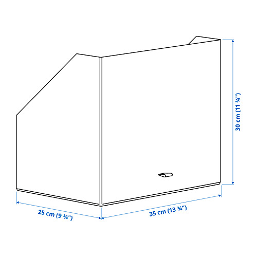 """ANILINARE caja de almacenaje,9 ¾ """"x13 ¾ """""""