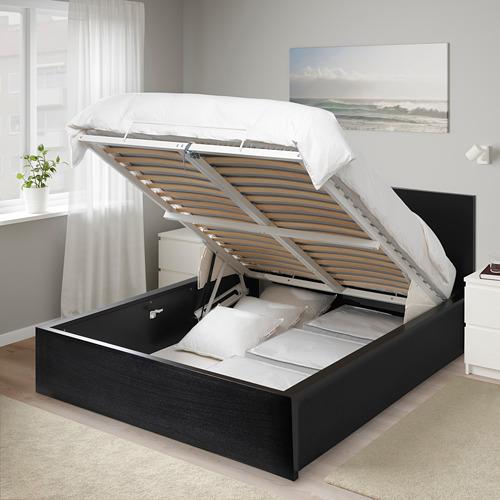 MALM cama+almacenaje