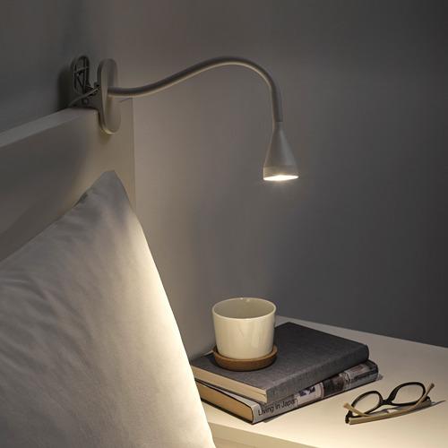 NÄVLINGE foco+abrazadera LED integrada
