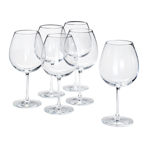 STORSINT red wine glass, sed of 6 pieces