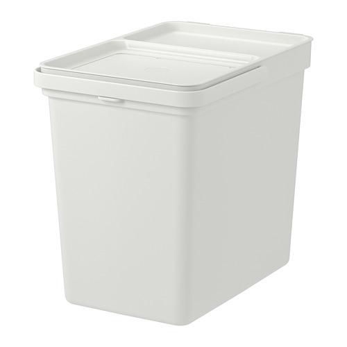 HÅLLBAR bin with lid