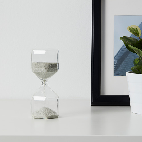 TILLSYN decorative hourglass