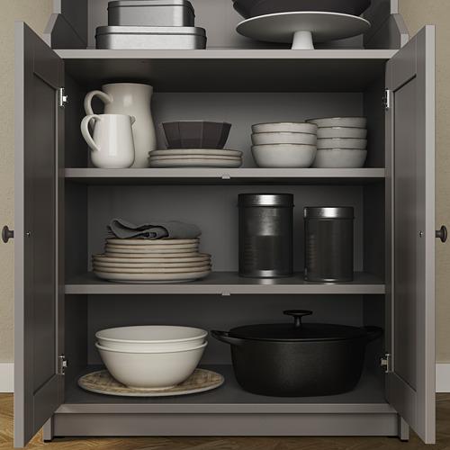 HAUGA cabinet with 2 doors