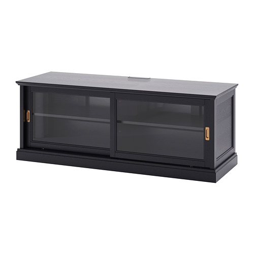 MALSJÖ TV unit with sliding doors