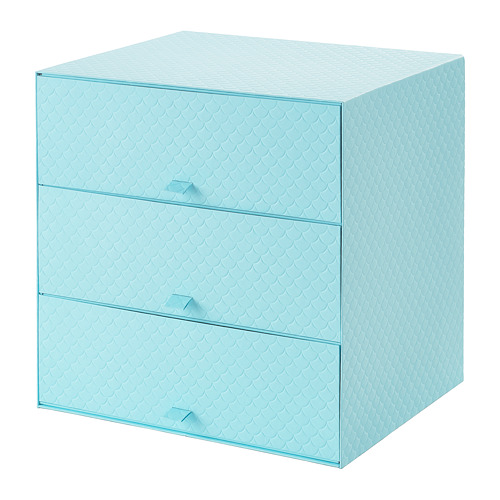 PALLRA mini chest with 3 drawers