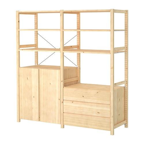 IVAR 2 section unit w/cabinet & chest