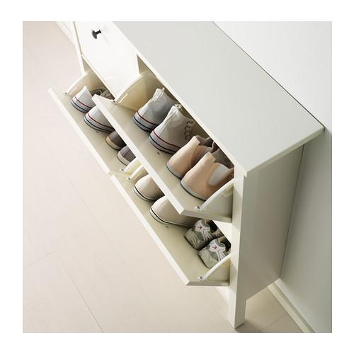 HEMNES armario zapatos+4 compartimientos