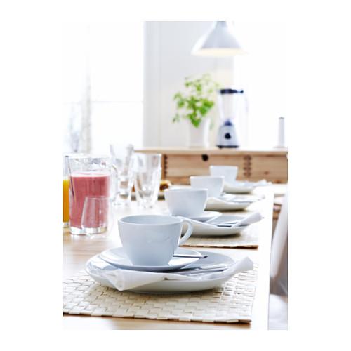 VÄRDERA taza+plato para café