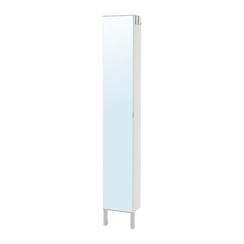LILLÅNGEN armario alto con puerta de espejo