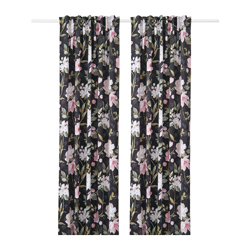 ROSENMOTT blackout curtains, 1 pair