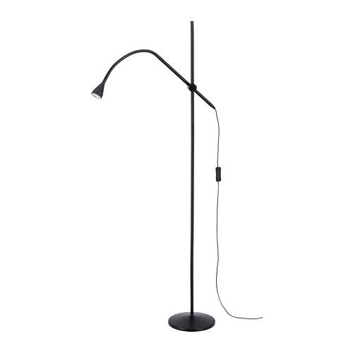 NÄVLINGE LED floor/read lamp