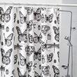 SOMMARMALVA shower curtain