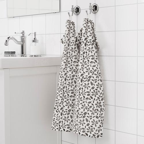 JUVELBLOMMA toalla de mano, peso: 400 g/m²