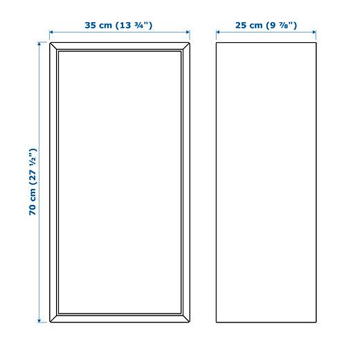 EKET armario+1 puerta+2 estantes