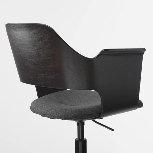 FJÄLLBERGET silla para reuniones+ruedas