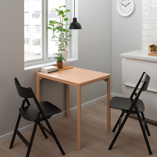 RÅVAROR/RÅVAROR mesa y 2 sillas plegables