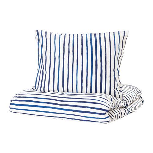 SÅNGLÄRKA duvet cover and pillowcase(s)