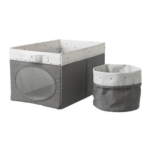 NÖJSAM box and basket