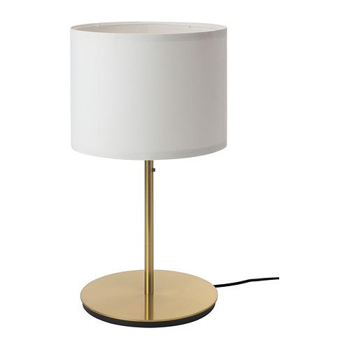 SKAFTET/RINGSTA lámpara de mesa