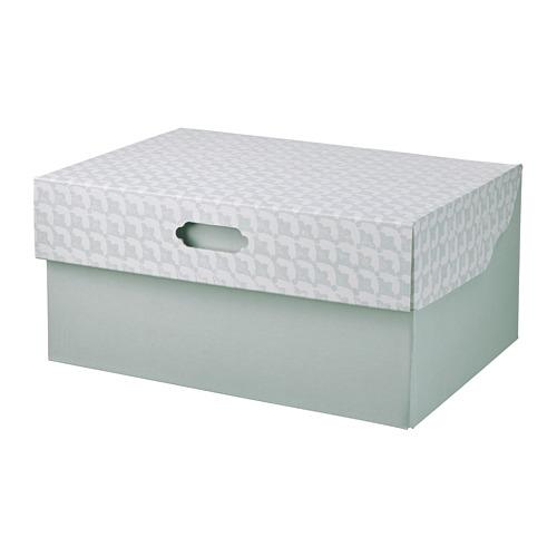 HYVENS storage box with lid