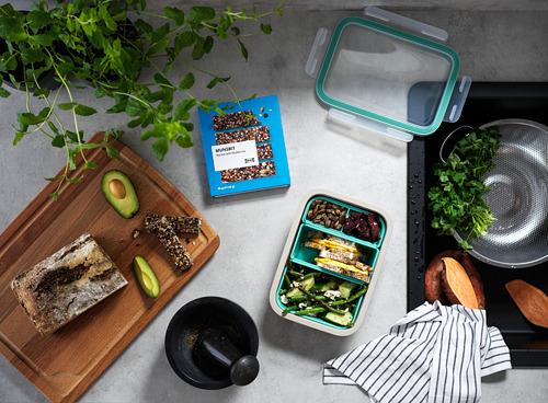IKEA 365+ lunch box with containers
