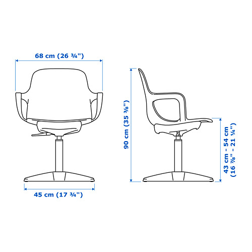 ODGER swivel chair