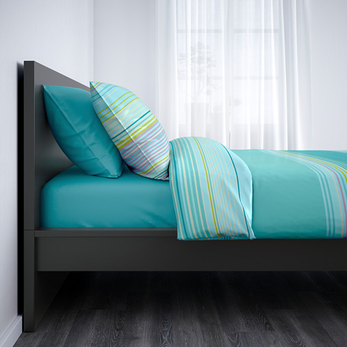 MALM Full bed with Luröy slatted