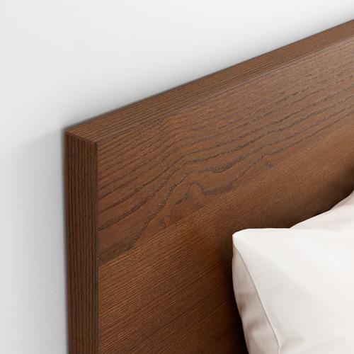 MALM estructura de cama alta con 2 gavetas,full