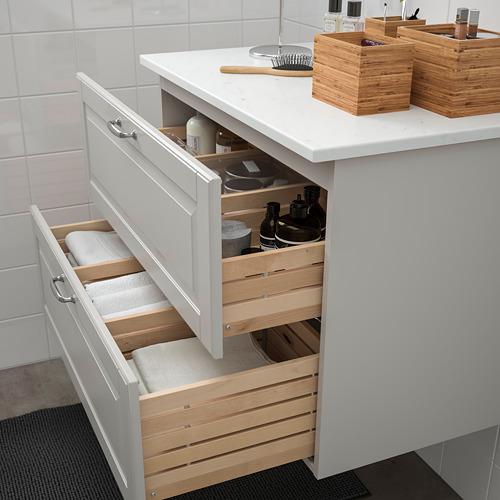 TOLKEN/GODMORGON armario para lavamanos con 2 gavetas