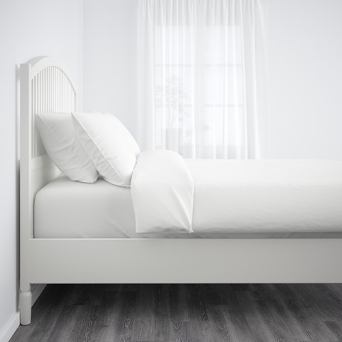 TYSSEDAL Cama queen + tablillas Luröy