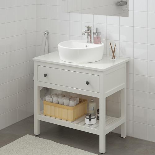 HEMNES mueble lavamanos abierto+2 gavetas