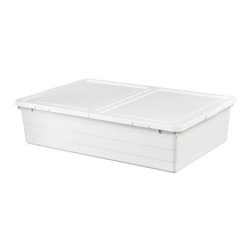 "SOCKERBIT caja de almacenaje+tapa,19 ¾ ""x30 ¼ ""x7 ½ """