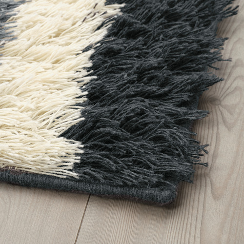 """NAUTRUP alfombra, pelo largo, 4' 4""""x 6' 5"""""""