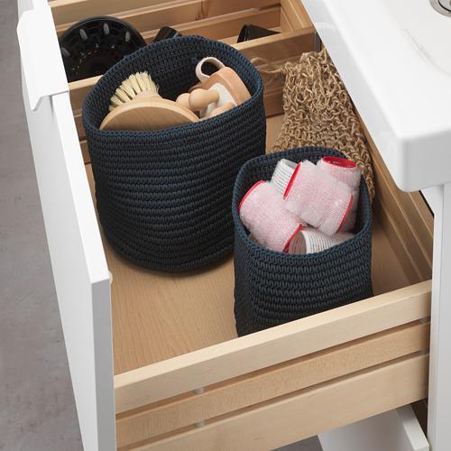 NORDRANA basket, set of 2