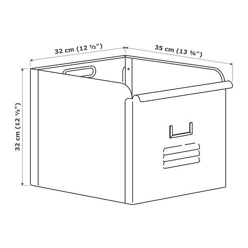 """REJSA caja, 12 1/2""""x13 ¾""""x12 1/2"""""""