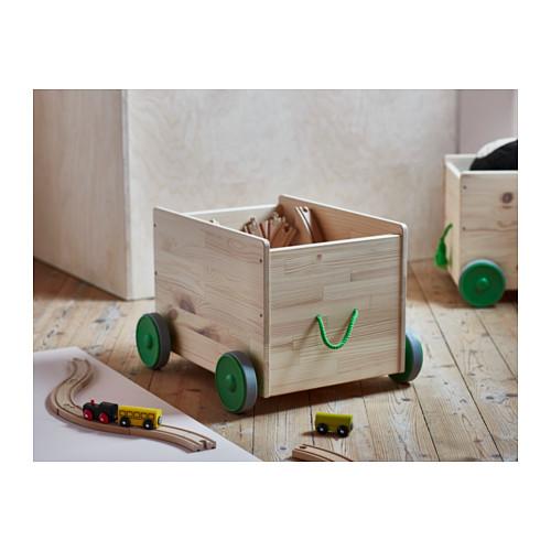 FLISAT almacenaje para juguetes+ruedas