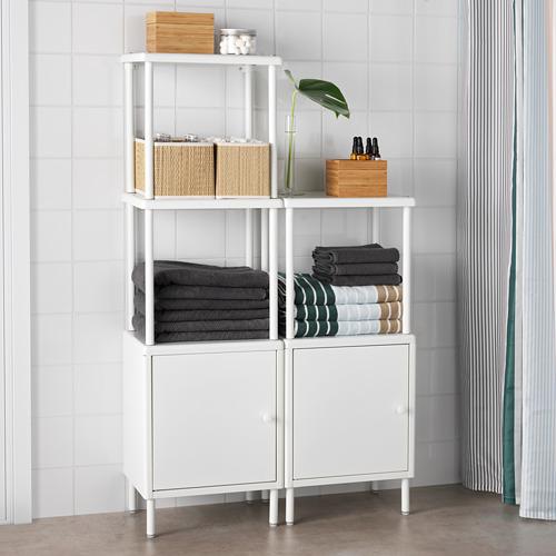DYNAN estantería con 2 armarios