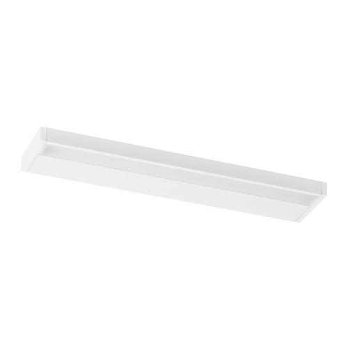 """GODMORGON iluminación led integrada y estantería de pared, 350 lm, 5""""x1""""x"""