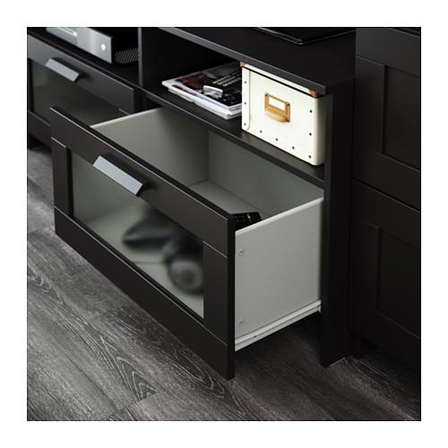 BRIMNES/BERGSHULT TV storage combination