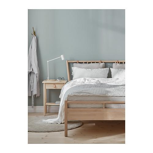 BJÖRKSNÄS bed frame