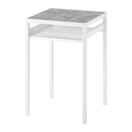 NYBODA mesa auxiliar+tablero reversible