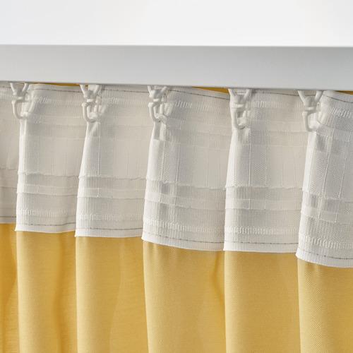GUNRID cortina purificadora de aire, 1 par