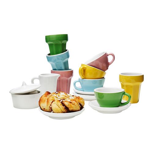 DUKTIG juego de café/té, 10 piezas