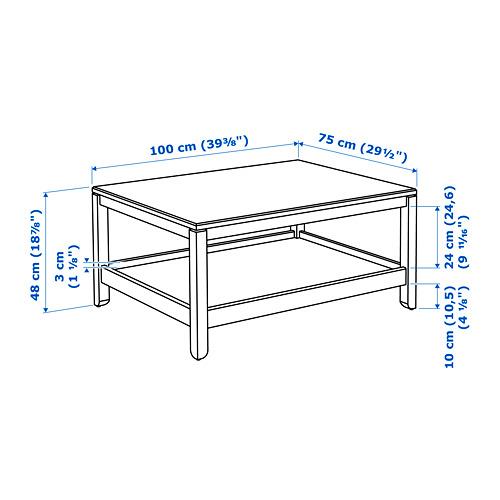 HAVSTA coffee table