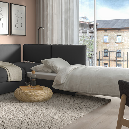 VALLENTUNA sofá modular esquina 3plz+sofá cama