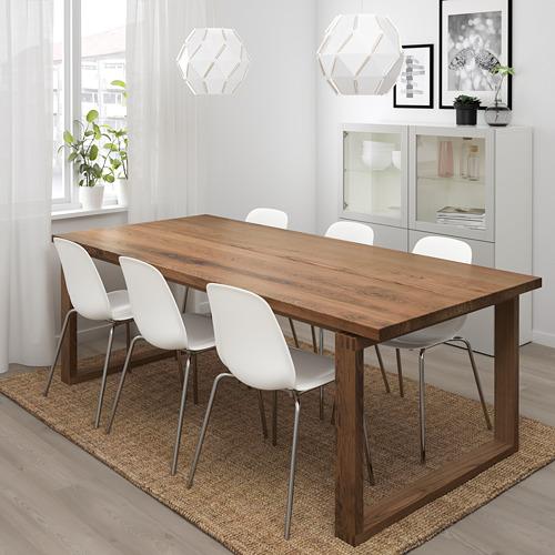 """LEIFARNE/MÖRBYLÅNGA mesa y 6 sillas, longitud de la mesa 86 5/8 """""""